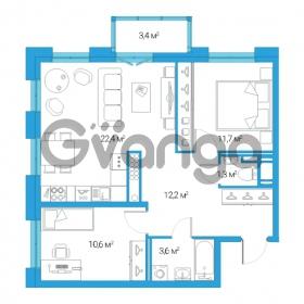 Продается квартира 3-ком 61.8 м² Дальневосточный проспект 12, метро Проспект Большевиков