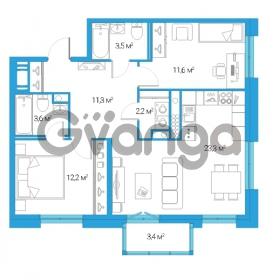 Продается квартира 3-ком 67.7 м² Дальневосточный проспект 12, метро Проспект Большевиков
