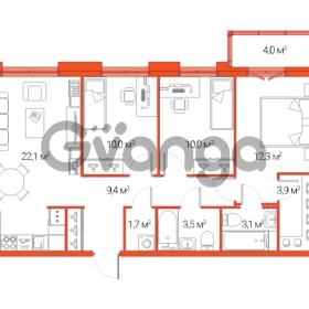 Продается квартира 4-ком 75.7 м² Дальневосточный проспект 12, метро Проспект Большевиков