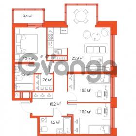 Продается квартира 4-ком 78.4 м² Дальневосточный проспект 12, метро Проспект Большевиков