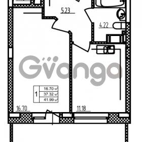 Продается квартира 1-ком 37.32 м² бульвар Менделеева 9, метро Девяткино