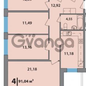 Продается квартира 4-ком 90.5 м² 2-я Комсомольская улица 42, метро Проспект Ветеранов