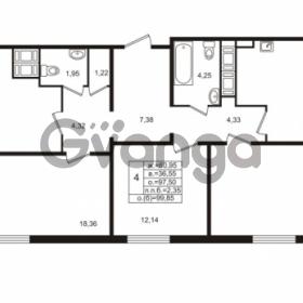 Продается квартира 4-ком 97.5 м² проспект Энергетиков 9, метро Ладожская