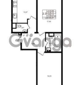 Продается квартира 2-ком 62.13 м² проспект Энергетиков 9, метро Ладожская