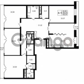 Продается квартира 4-ком 186.48 м² улица Малая Зеленина 1, метро Чкаловская