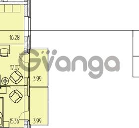 Продается квартира 2-ком 76.66 м² Приморский проспект 52, метро Старая деревня