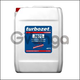 TurboZet 7070 (-40 ° C). Антифриз синий с Zet-присадками.