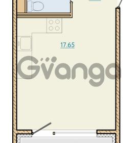 Продается квартира 1-ком 27.4 м² Таможенная дорога 1, метро Старая деревня