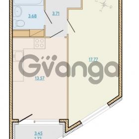 Продается квартира 1-ком 40.48 м² Таможенная дорога 1, метро Старая деревня