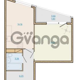 Продается квартира 1-ком 40.97 м² Таможенная дорога 1, метро Старая деревня
