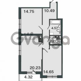 Продается квартира 2-ком 66.9 м² Петровский проспект 20, метро Чкаловская