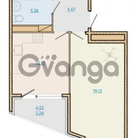 Продается квартира 1-ком 44.26 м² Таможенная дорога 1, метро Старая деревня