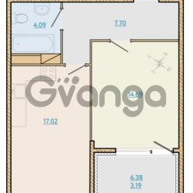 Продается квартира 1-ком 47.17 м² Таможенная дорога 1, метро Старая деревня