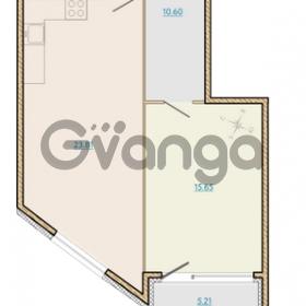Продается квартира 1-ком 57.11 м² Таможенная дорога 1, метро Старая деревня