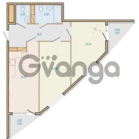Продается квартира 2-ком 65.67 м² Таможенная дорога 1, метро Старая деревня