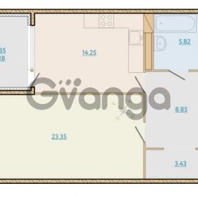 Продается квартира 1-ком 58.88 м² Таможенная дорога 1, метро Старая деревня