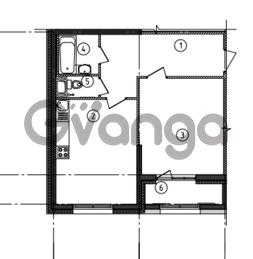 Продается квартира 1-ком 52.04 м² Уральская улица 4, метро Василеостровская