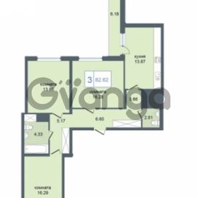 Продается квартира 3-ком 82.62 м² Дунайский проспект 7, метро Звёздная