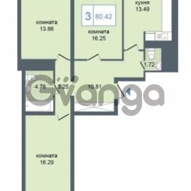 Продается квартира 3-ком 80.42 м² Дунайский проспект 7, метро Звёздная