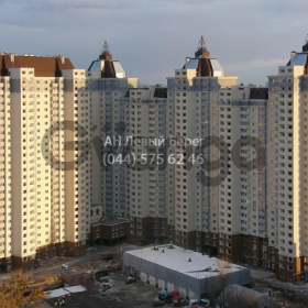 Продается квартира 2-ком 94 м² ул. Туманяна Ованеса, 15а, метро Левобережная