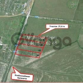Продается участок для строительства коммерческих объектов 21000 сот