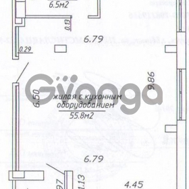 Продается квартира 1-ком 62 м² ул. Петра мстиславца , 22