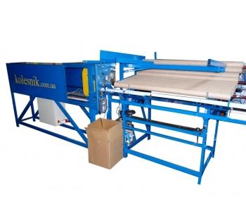 Автоматический станок порезки картонных гильз / втулок / шпуль