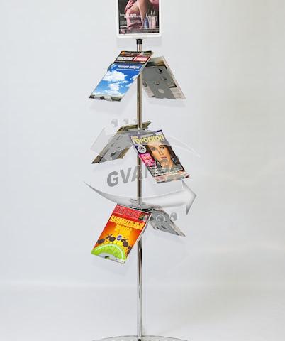 Напольная стойка для прайс листов, буклетница Конструктор