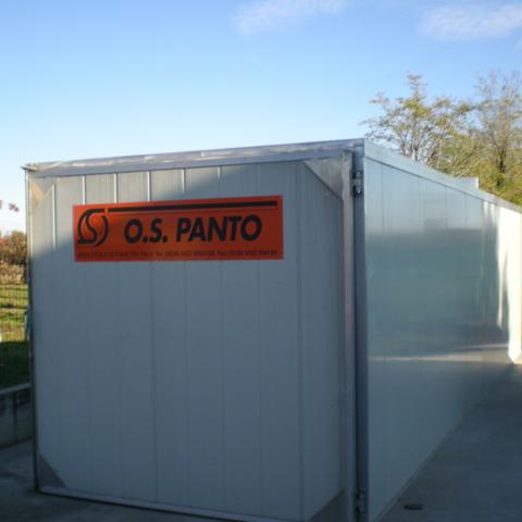 Новые камеры для сушки древесины фирмы O.S Panto(Италия) серии PONI от 20 до 40 кубов.