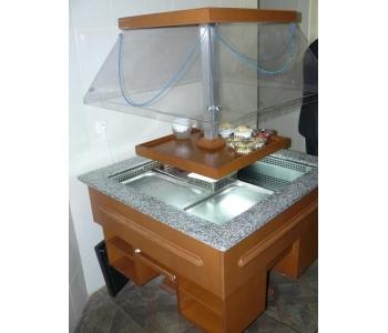 Продам фуршет витрину для салатов б/у в ресторан, кафе, общепит