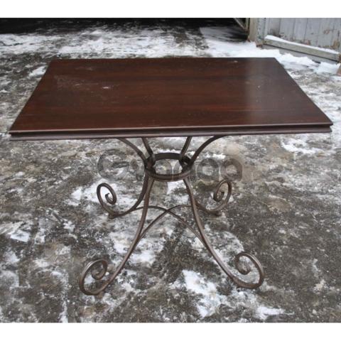Продам кованые столы для кафе бу