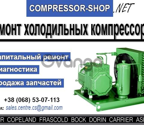 Спец, сервис по ремонту холодильных компресоров