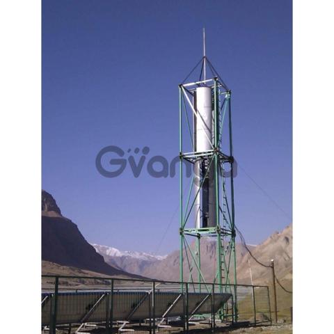Вертикальный Ветрогенератор VAWT DPV TWIN HYBRID 2 A( 2+4)/3м Номинальная мощность 9 кВТ