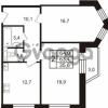 Продается квартира 2-ком 64 м² Колтушское шоссе 66, метро Ладожская