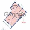 Продается квартира 3-ком 124.56 м² Савушкина 112к 4, метро Старая деревня