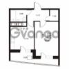 Продается квартира 1-ком 42.28 м² улица Катерников 1, метро Проспект Ветеранов