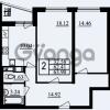 Продается квартира 2-ком 63.9 м² проспект Маршала Блюхера 11, метро Лесная