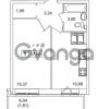 Продается квартира 1-ком 37 м² Русановская улица 15к 1, метро Пролетарская