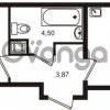 Продается квартира 1-ком 38 м² Немецкая улица 1, метро Улица Дыбенко