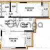 Продается квартира 2-ком 93 м² ул. Туманяна Ованеса, 15а, метро Левобережная
