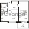 Продается квартира 1-ком 42.01 м² Севастопольская улица 14, метро Нарвская