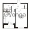 Продается квартира 1-ком 40.44 м² улица Катерников 1, метро Проспект Ветеранов