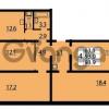 Продается квартира 4-ком 93 м² Муринская дорога 7, метро Гражданский проспект