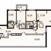 Продается квартира 3-ком 147 м² Пискаревский проспект 3, метро Площадь Ленина