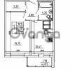 Продается квартира 1-ком 39.66 м² Графская улица 1, метро Девяткино