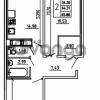 Продается квартира 2-ком 65.88 м² Графская улица 1, метро Девяткино