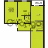 Продается квартира 3-ком 85.1 м² Южное шоссе 110, метро Международная