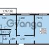 Продается квартира 2-ком 56.8 м² Южное шоссе 110, метро Международная