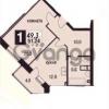 Продается квартира 1-ком 49 м² Молодежная ул.
