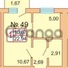 Продается квартира 1-ком 24 м² Байдукова